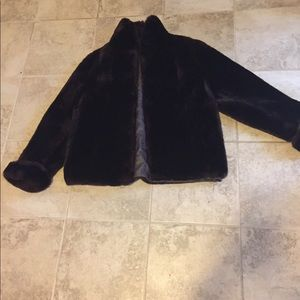 Jackets & Blazers - Vintage Faux Mouton Lamb Coat